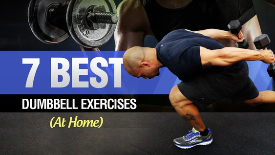 Dumbbell Workout At Home (Quick Dumbbell Exercises To Lose Weight)