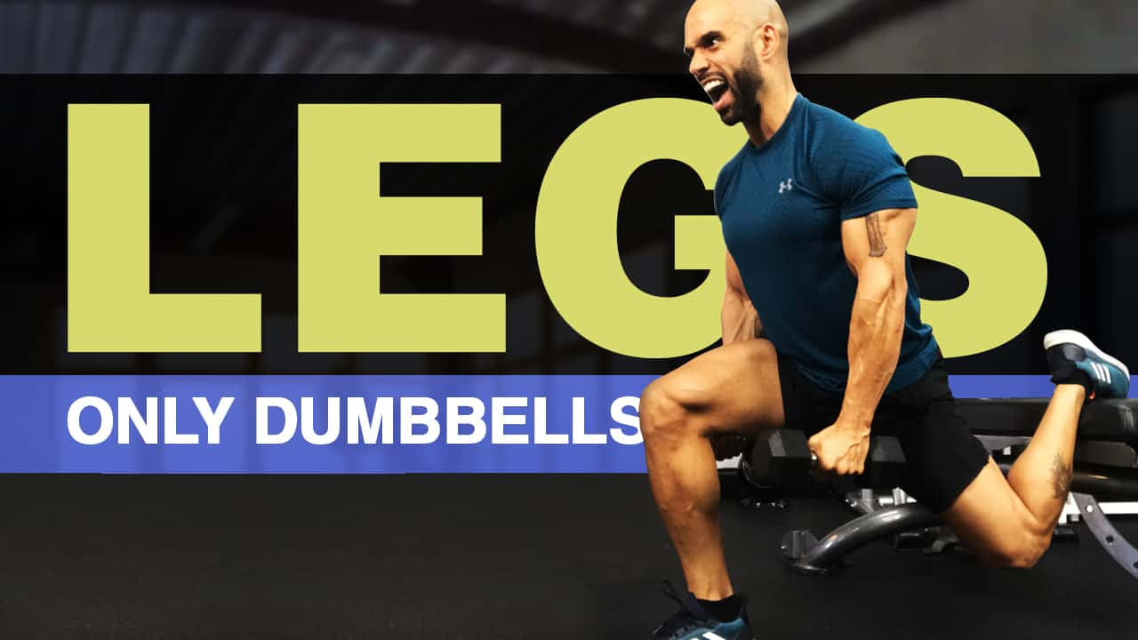 dumbbell leg routine